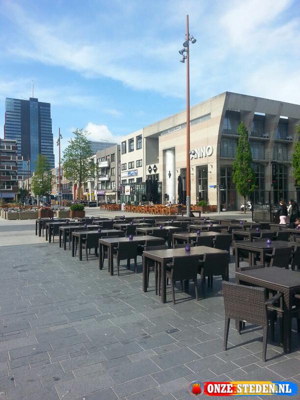 De Grote Markt in Almere