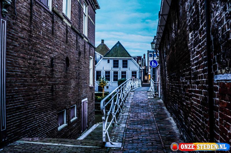 Historische steeg in Appingedam