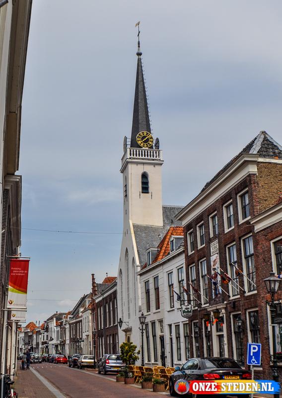 Jacobskerk aan de Voorstraat in Brielle