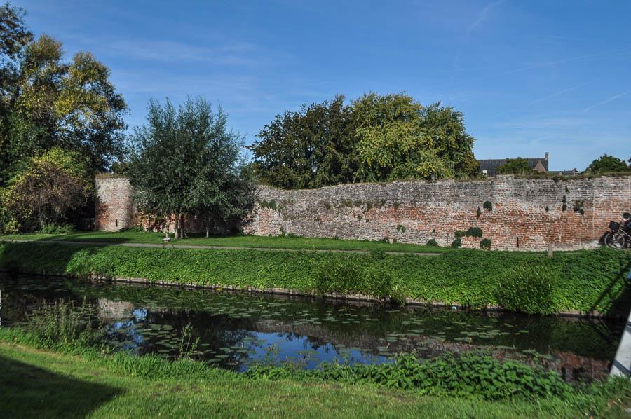 De stadsmuur van Culemborg