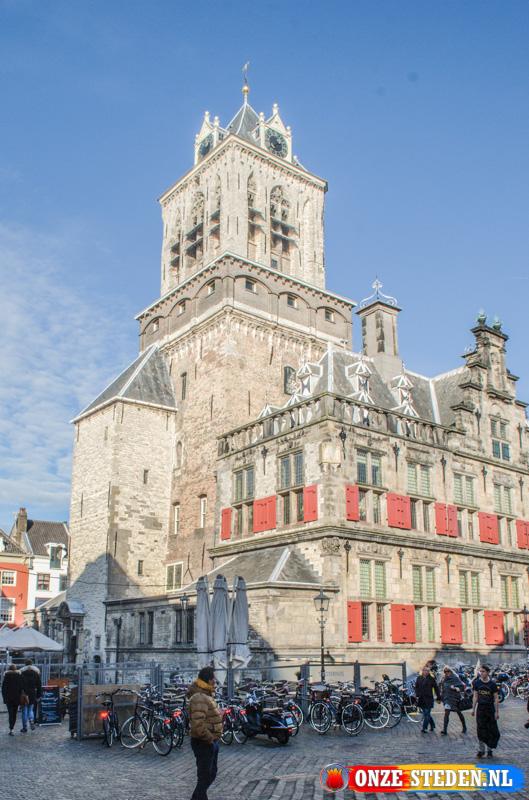 Het Oude Raadhuis, Delft (zijkant)