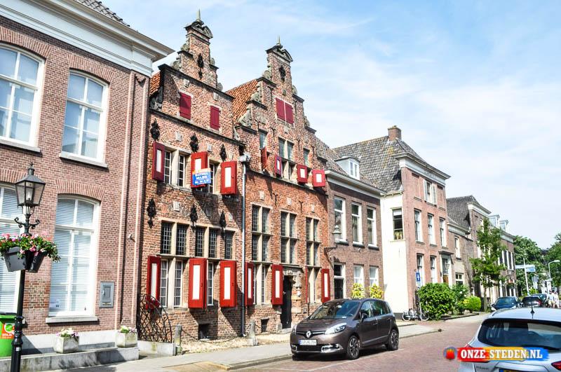 Monumentale gebouwen Koepoortstraat Doesburg uit het jaar 1649