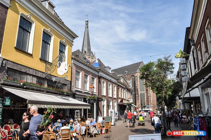 De Kerkstraat in Doesburg