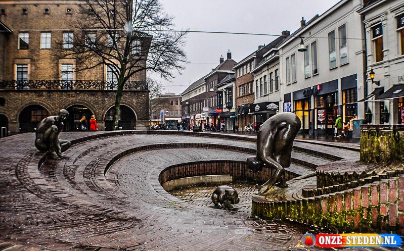De Langerstraat  in Enschede