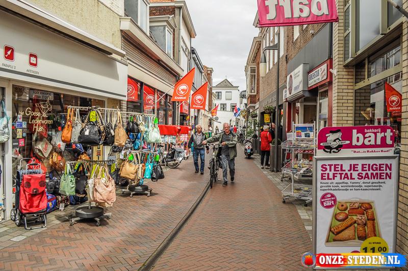 Sint Adriaanstraat in Goes