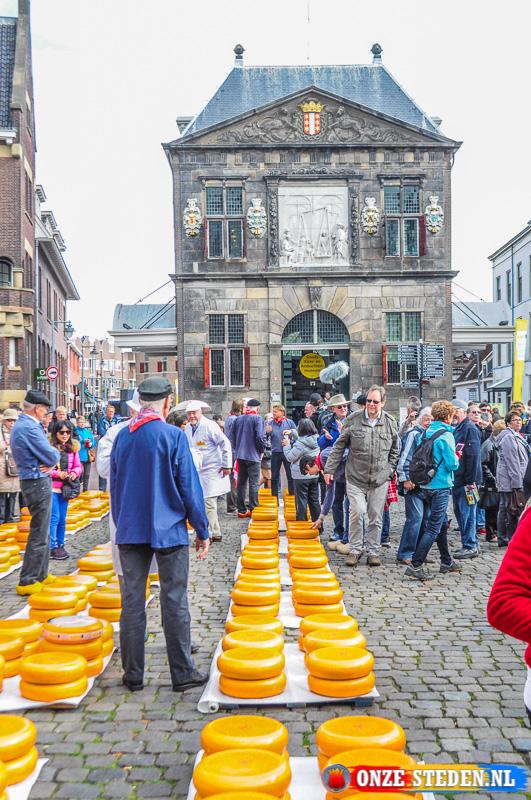 De Bekende Kaasmarkt van Gouda.