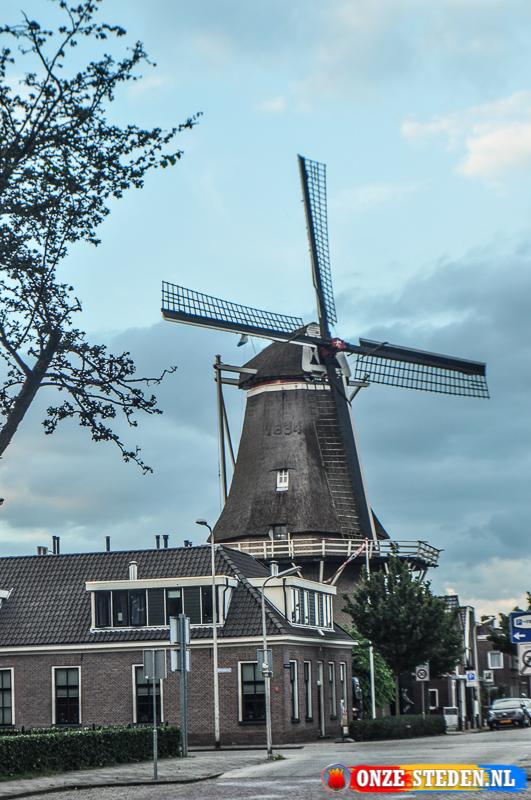 Korenmolen de Zwaluw te Hoogeveen
