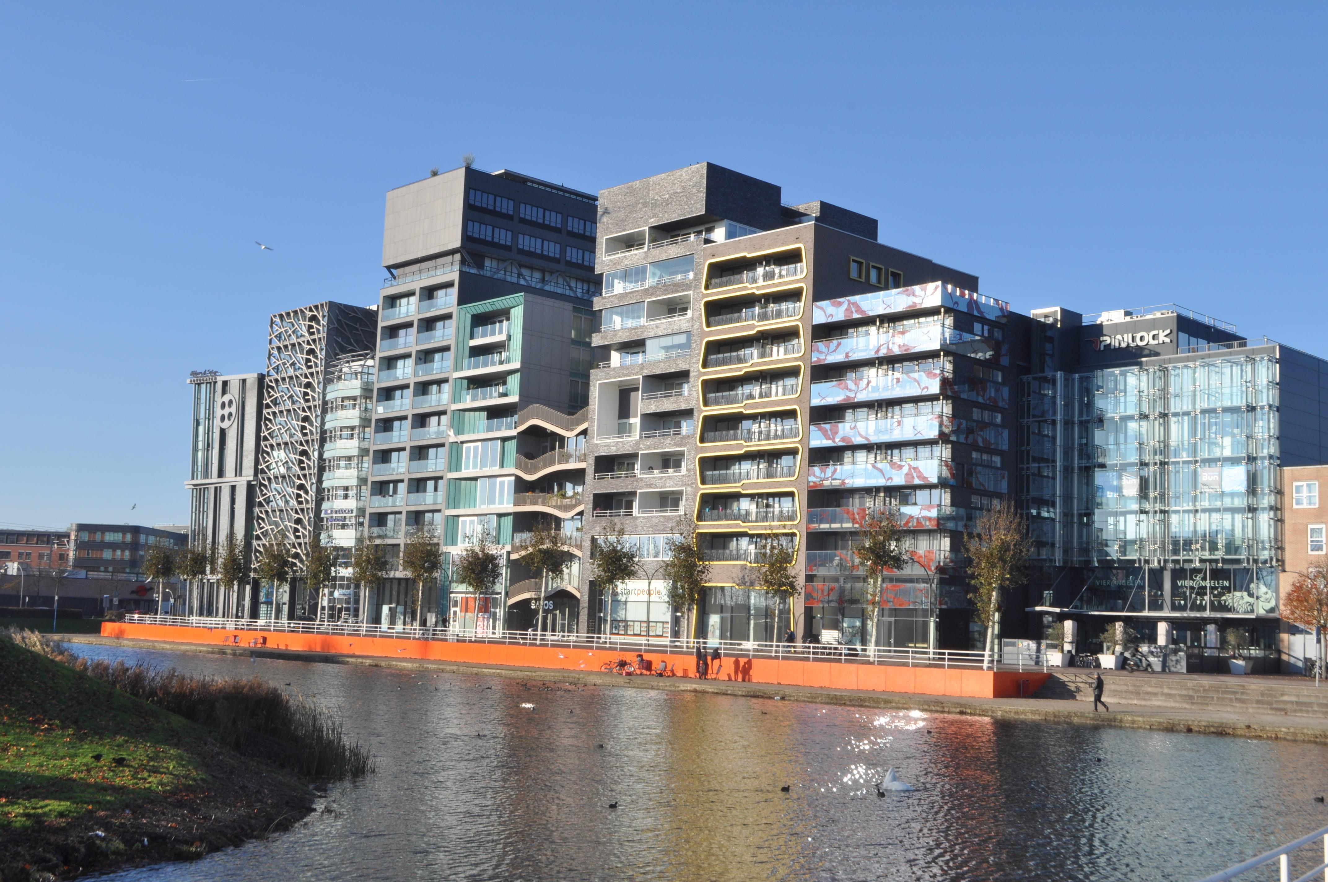 De Oostvaardersdijk in Lelystad