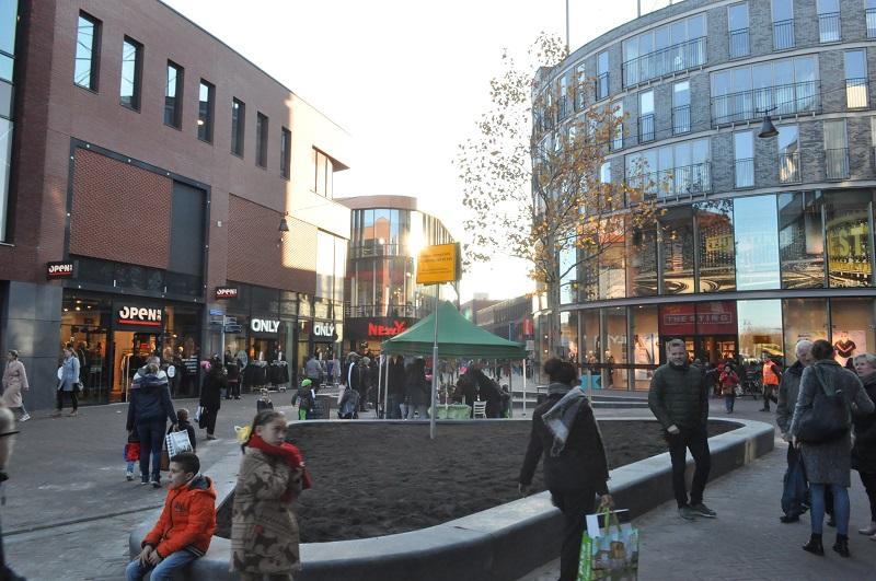 De Dukaatpassage in Lelystad