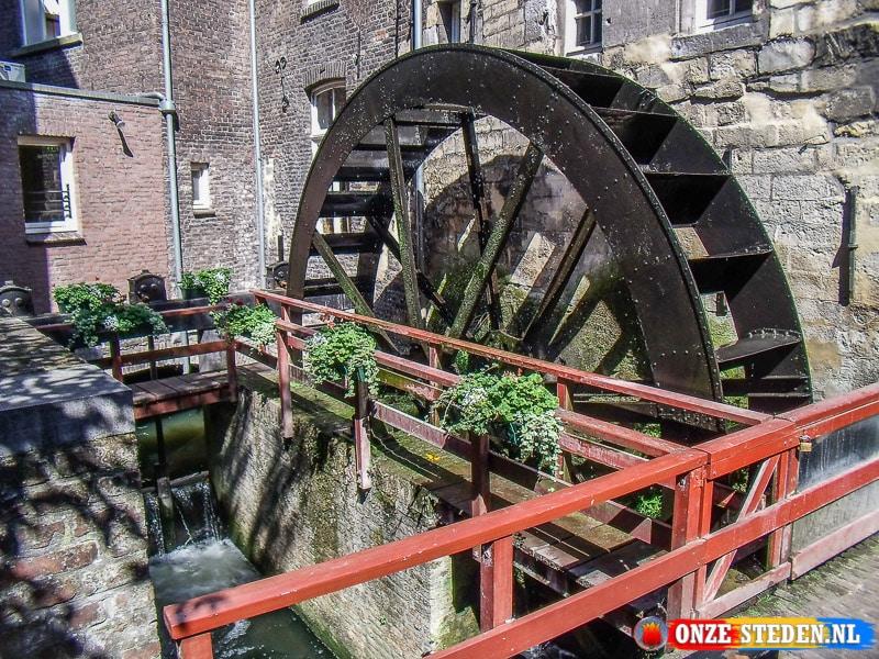 De Sint Pieterskade in Maastricht