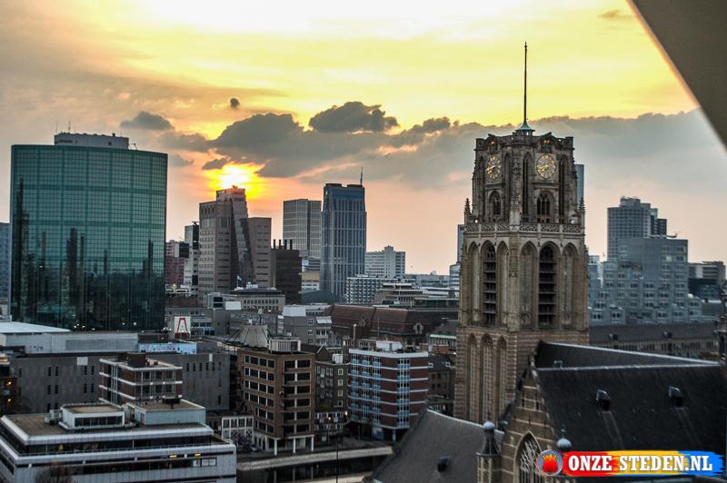 De Kop van Zuid in Rotterdam