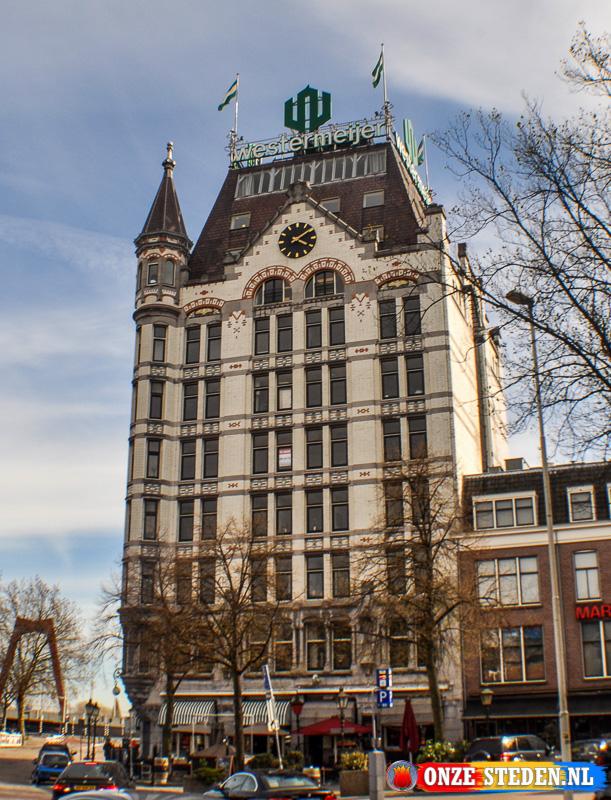 De eerste wolkenkapper van Nederland