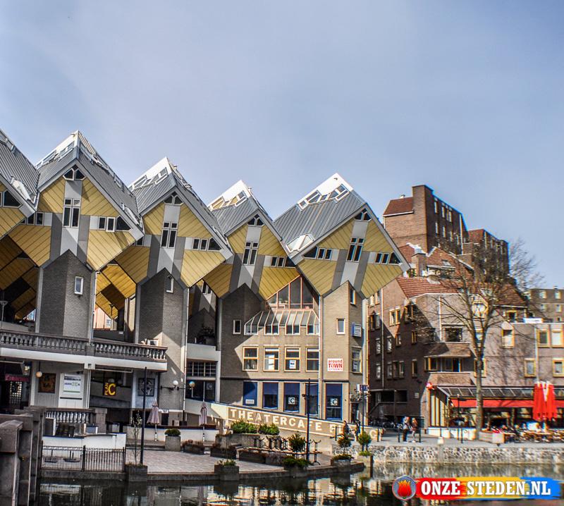 De Kubuswoningen van Rotterdam