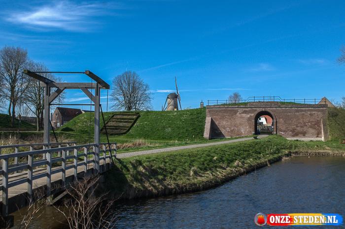 Bolwerk-Zuid in Sluis