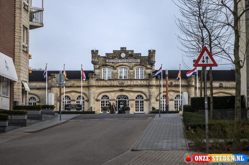 De Herbouwde Geulpoort in Valkenburg