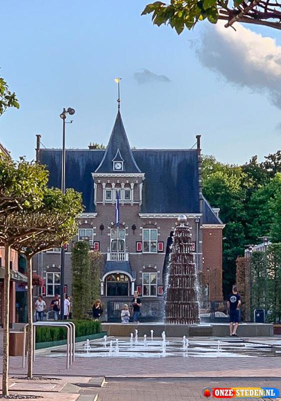 Het Stadhuis Veendam