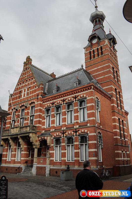 Het gemeentehuis van Winschoten