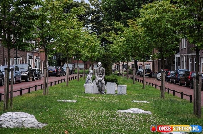 Prins Bernhardlaan in Woerden
