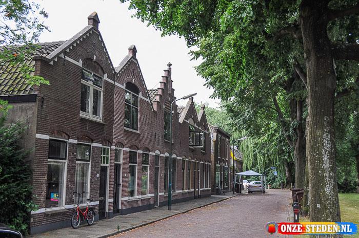 De Rijnstraat in Woerden
