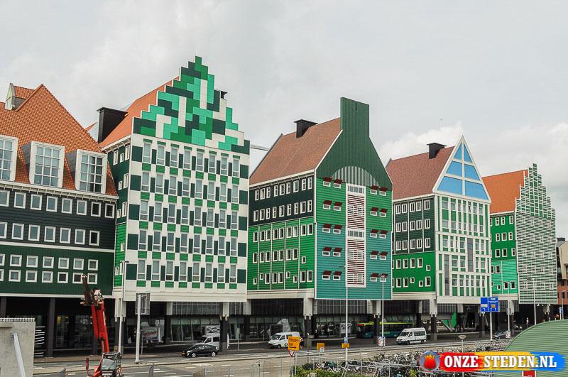Het Ankersmidplein in het centrum van Zaandam