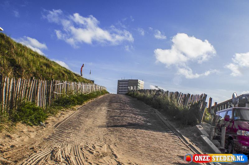 Strandopgang in Zandvoort