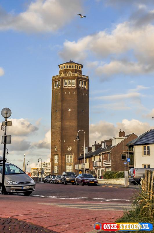 De Nieuwe watertoren in Zandvoort